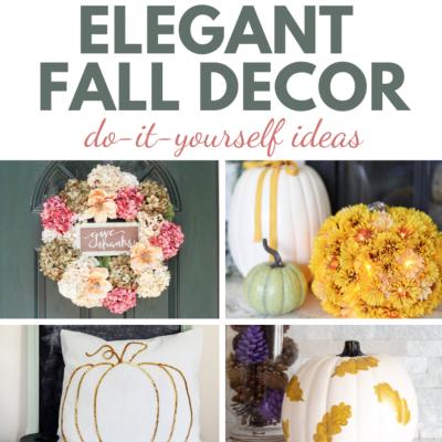 20 Elegant Fall Decor Ideas